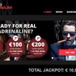 Casino Adrenaline Homepage