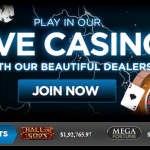 The main banner in the online casino Diamond 777