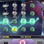 Slot Space Wars in the gambling establishment