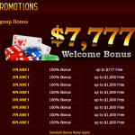 Many bonuses on this site