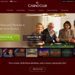 Casino Club Homepage