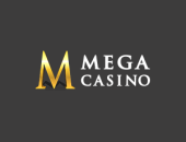 Mega Casino website logo