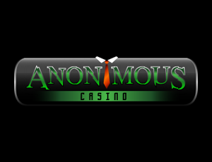 Anonymous Casino website logo