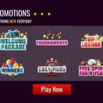 Promotions and bonuses at Slots Magic Casino
