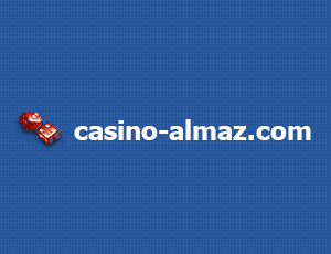 Casino Almaz website logo