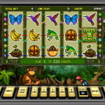 Slot with monkeys, this game is for fun