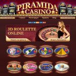 Piramida Casino Homepage