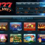 777Planet Casino Homepage