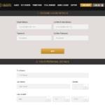 Registration Form on Caesars Casino