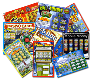 The history of the game in the scratch card