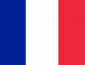 The flag of the France country