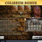Bonus page in slot game