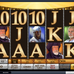 Playing field in this online slot
