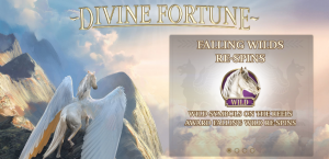Main page of divine fortune slot
