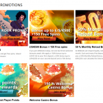 Promotions and bonuses in WildSlots Casino