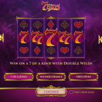 7 Sins Slot introductory page