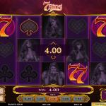 Winning in 7 Sins Slot