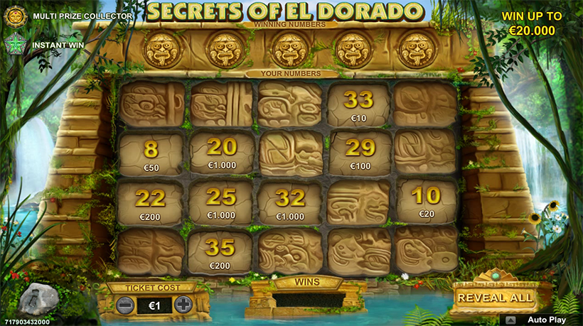 Game Secrets of El Dorado