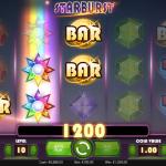 Winning in Starburst Slot