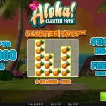 Aloha slot introductory page