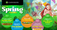 CasinoLuck Spring Promotions