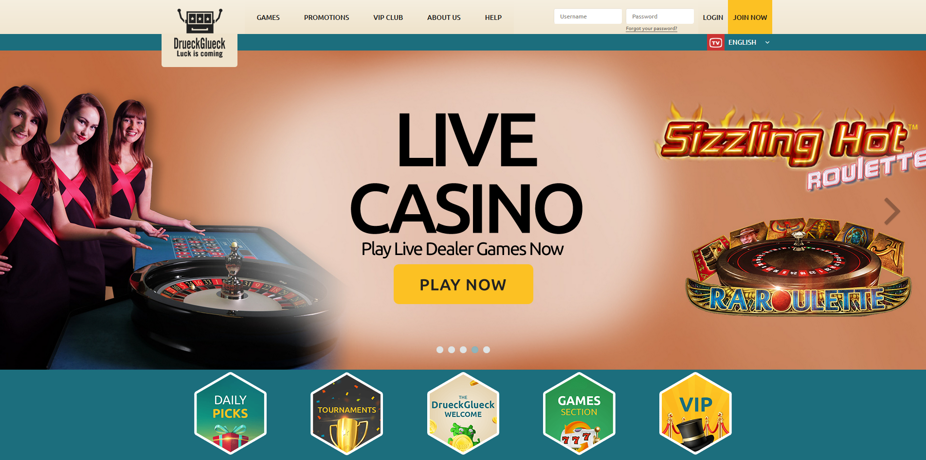 DrueckGlueck Casino - Review & Rankings by VSO