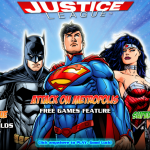 Justice League slot main page