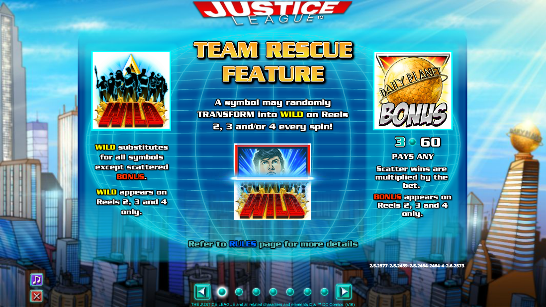 Justice League Slot Machine - Try Playing Online for Free