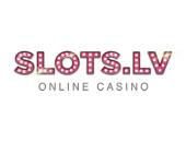 Slots.lv online casino logotip
