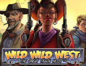 Wild Wild West from NetEnt logo