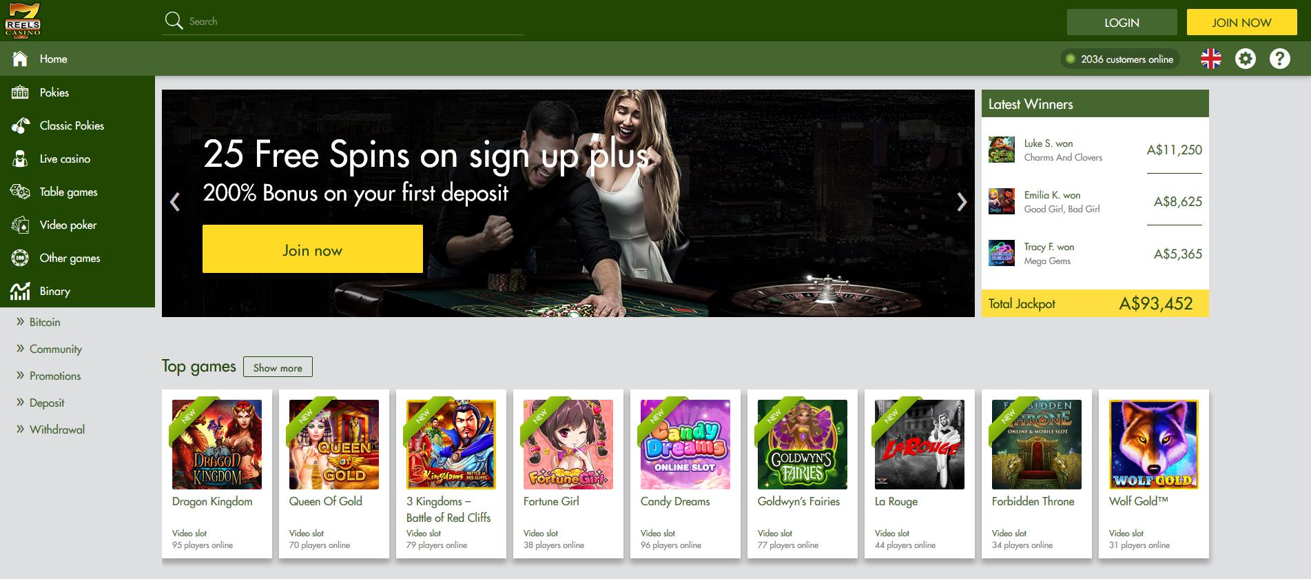 7reels casino online