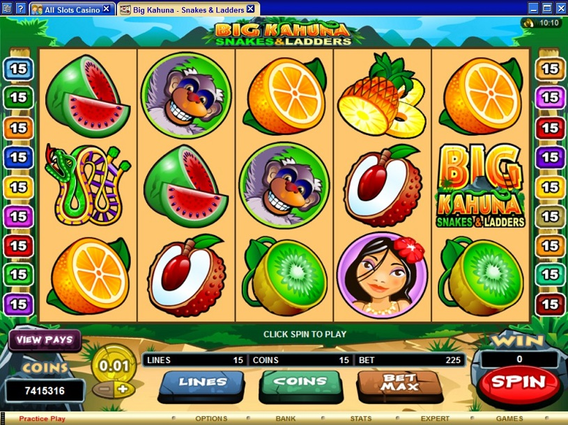 Big Kahuna internet slot