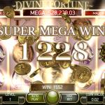 Winning in Divine Fortune Slot