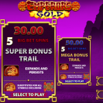 Additional game in the Emperor's Gold Slot