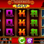 Gameplay in the Emperor's Gold Slot