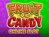 Fruit vs Candy Slot logo