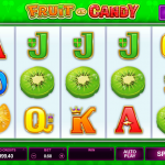 Gameplay in the Fruit vs Candy Slot