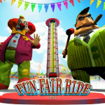 Loading screen in the Fun Fair Ride slot