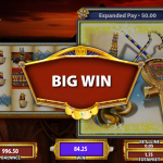 Winning in Lady of Egypt slot