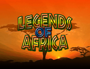 Legends of Africa Slot logo