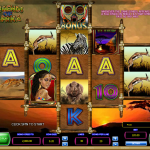 Gameplay in the Legends of Africa Slot