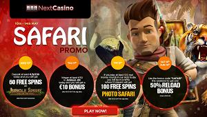 NextCasino Safari Promotion