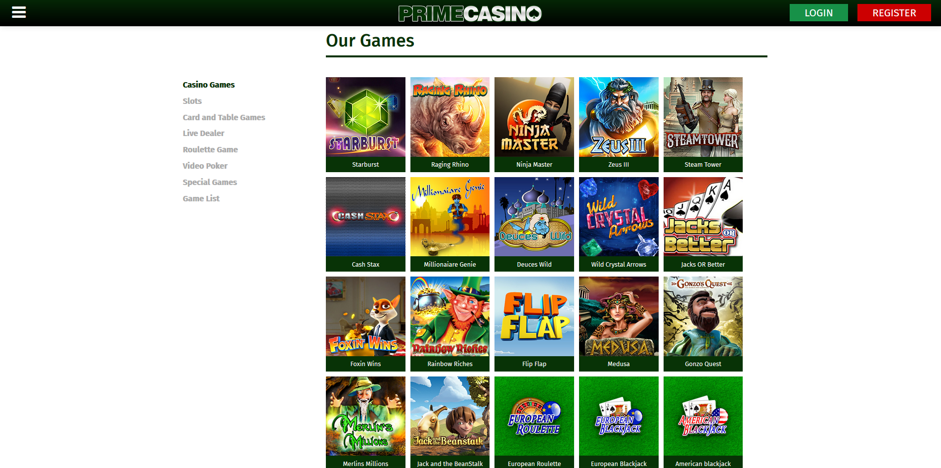 crown vegas casino