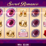 Winning in Secret Romance Slot