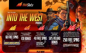 WildSlots casino Western Promotion