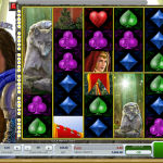 Gameplay in the Wolfheart Slot