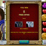 Free spins in this slot machine