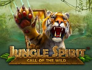 Jungle Spirit Call of the Wild Slot logo