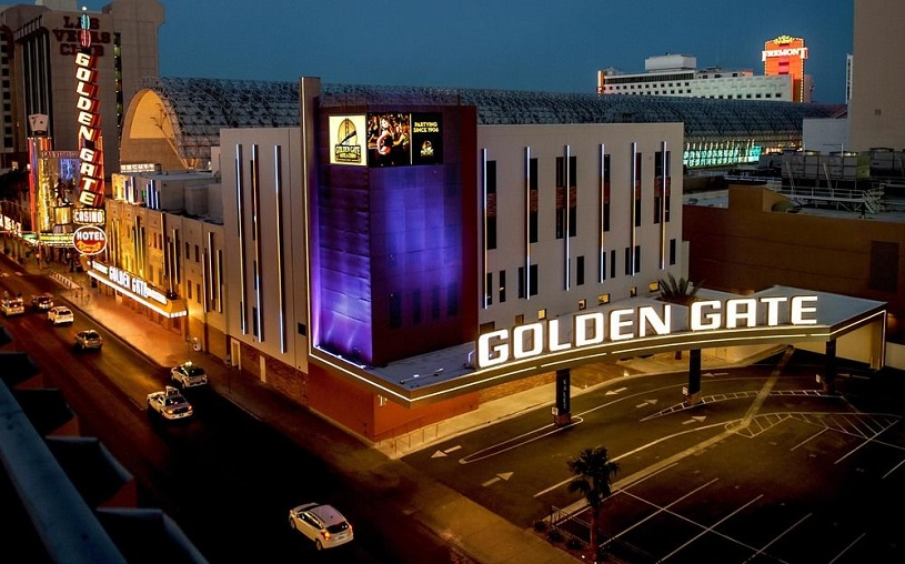 Las Vegas started with the Golden Gate casino