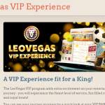 LeoVegas casino VIP program